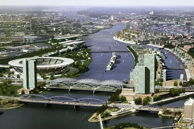 Hambourg - Projet olympique 2012