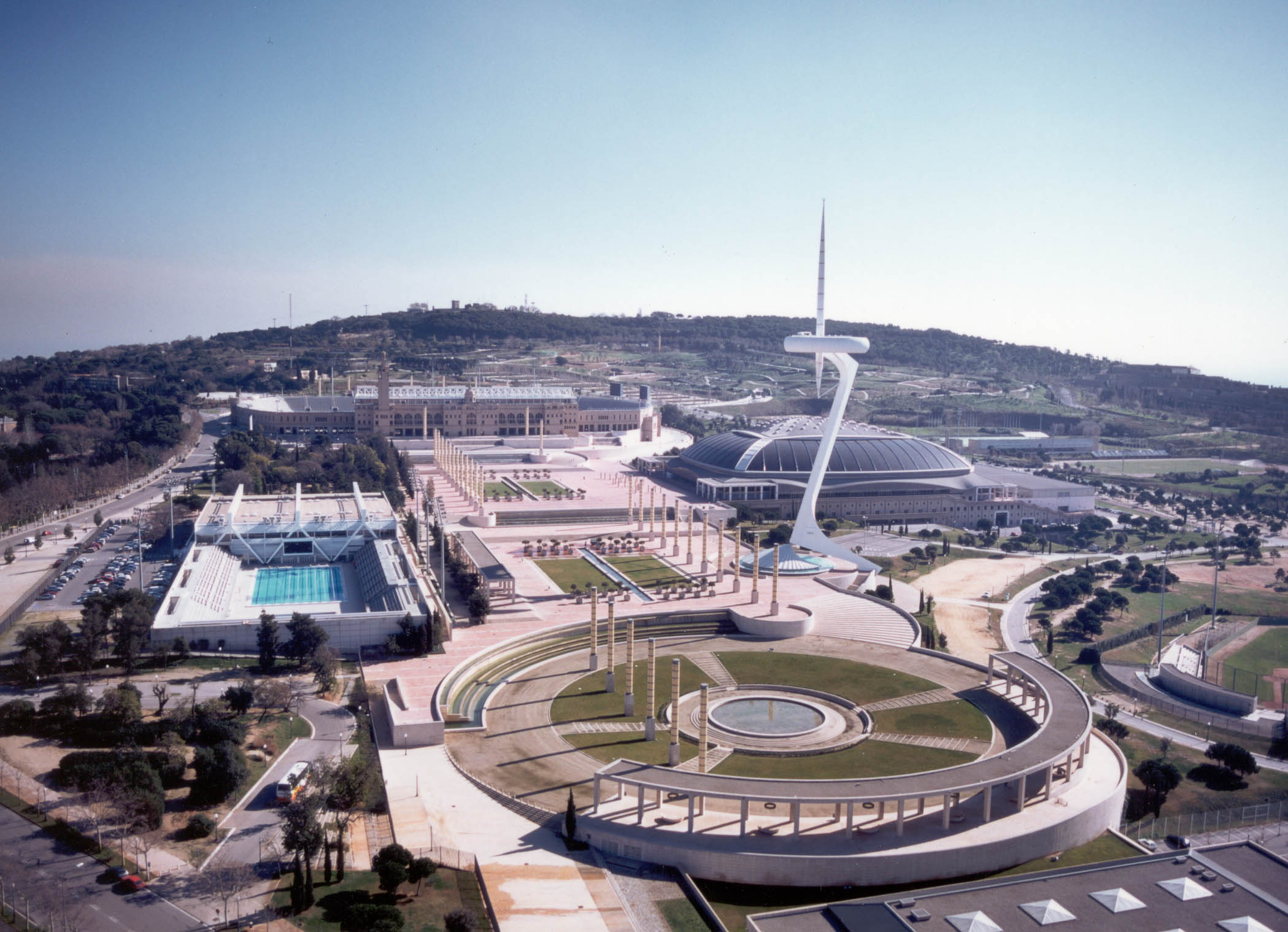 Parc olympique sport soci t - Piscine du stade olympique ...