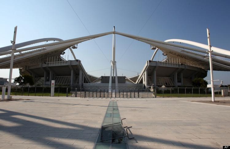 Athènes 2004 - Stade Olympique en 2012