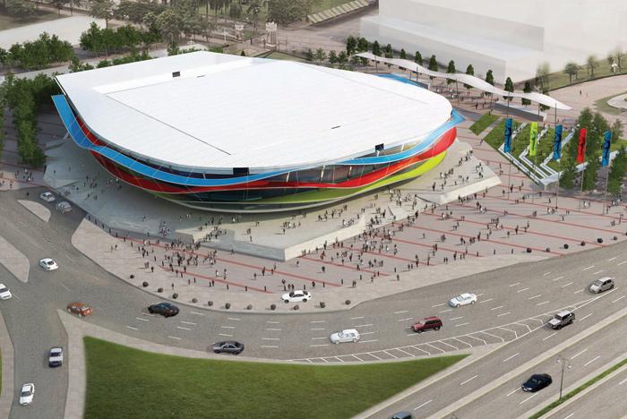 Bakou 2015 - National Gymnastics Arena