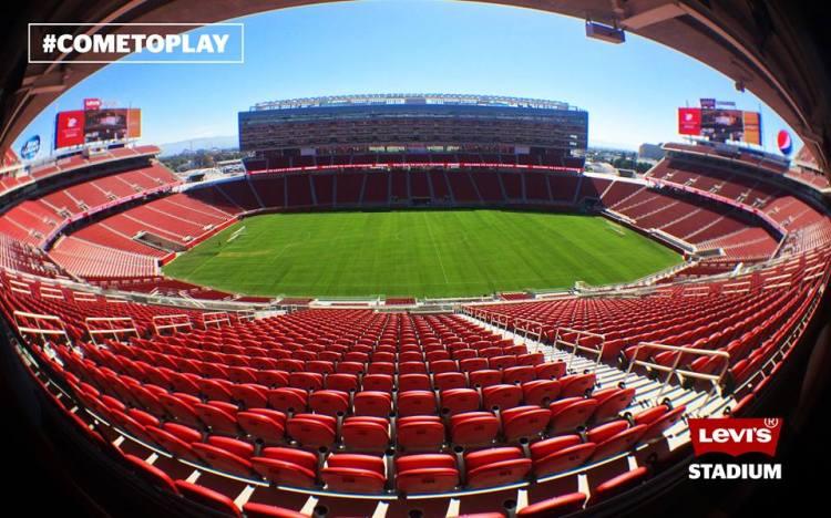 Levi's Stadium - vue arrondie