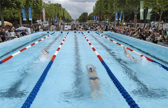 Paris 2012 - piscine Champs Elysées