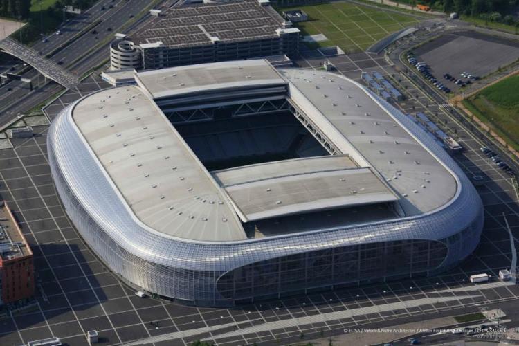 Stade Pierre Mauroy - vue aérienne