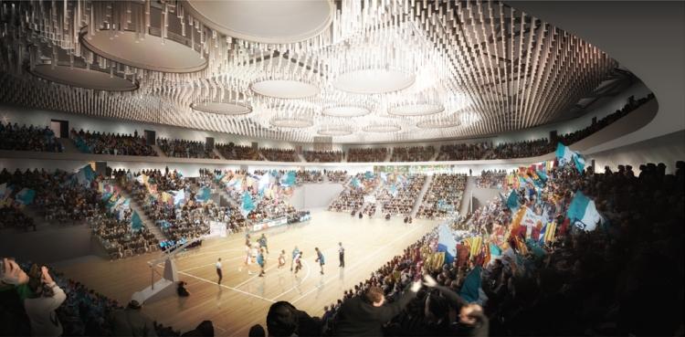 Brest Arena - intérieur