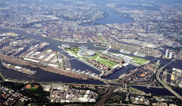 Hambourg 2024 - Parc Olympique 2024