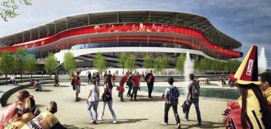 Nouveau Stade de Bruxelles - 1