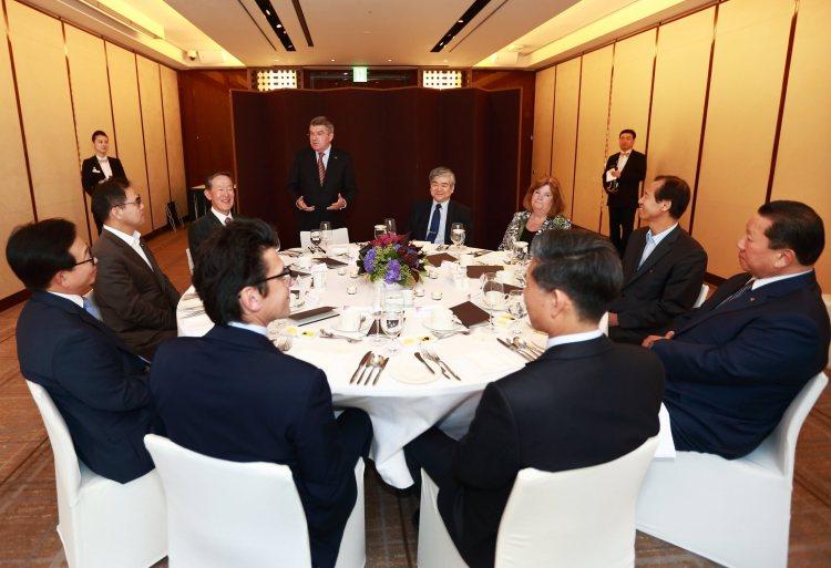 PyeongChang 2018 - réunion avec Thomas Bach