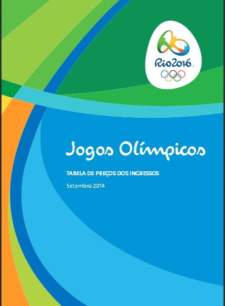 Rio 2016 - tarifs