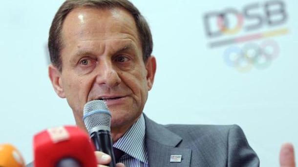 DOSB 2024 - Alfons Hörmann