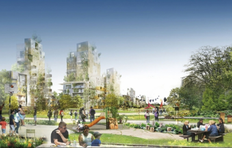 Paris 2024 - Central Park - visuel logements