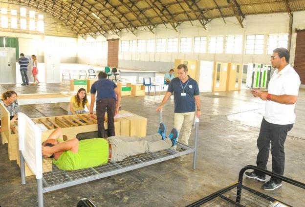 Rio 2016 - choix du mobilier du Village Olympique