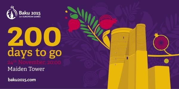 Bakou 2015 - 200 jours