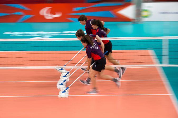 Rio 2016 - bénévoles sportifs