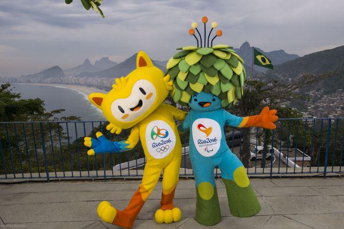 Mascottes des jeux olympiques et paralympiques de Rio