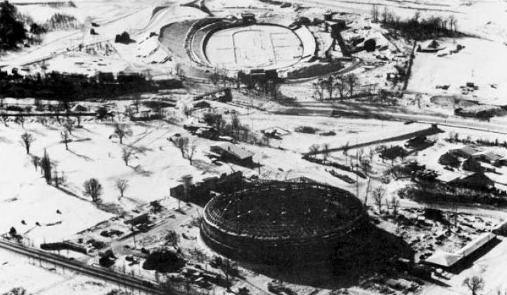 Sapporo 1972 - Patinoires du Parc Makomanai