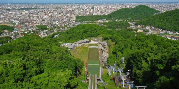 Sapporo - vue d'ensemble
