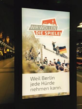 Berlin 2024 - promo - panneaux d'affichage