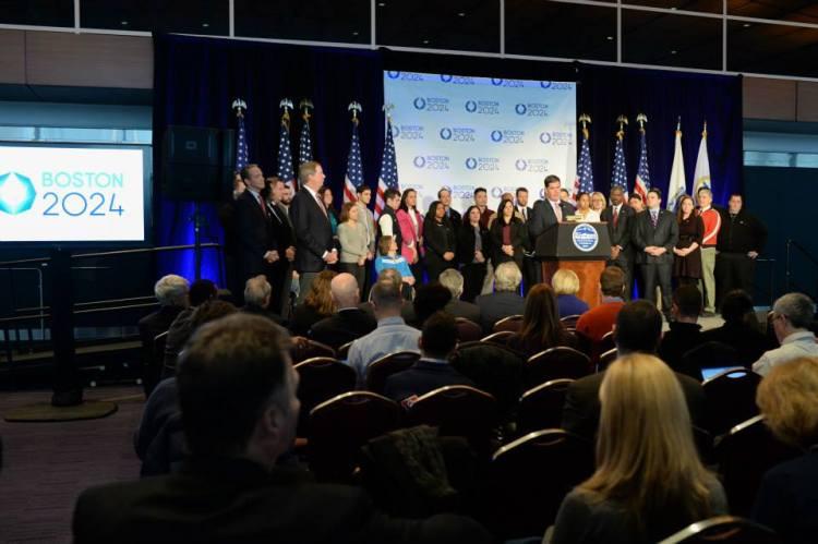 Boston 2024 - conférence USOC