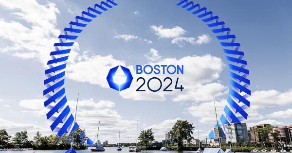 Boston 2024 - logo