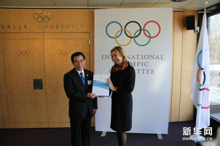 Pékin 2022 - Wang Anshun et Jacqueline Barrett - CIO