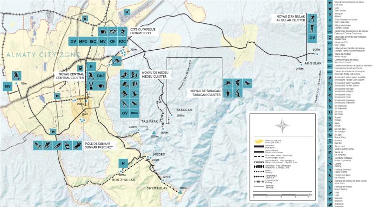 Almaty 2022 - plan