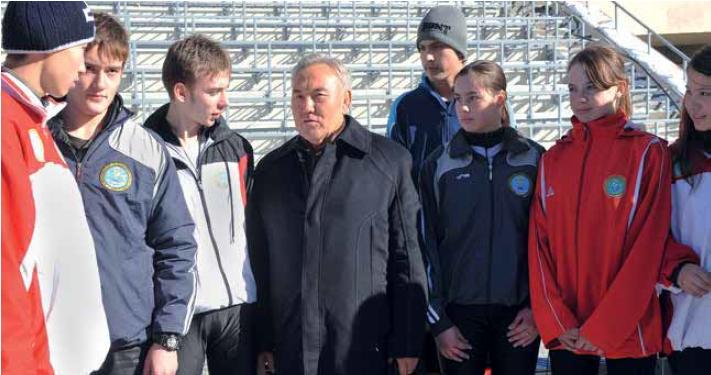 Almaty 2022 - Président du pays