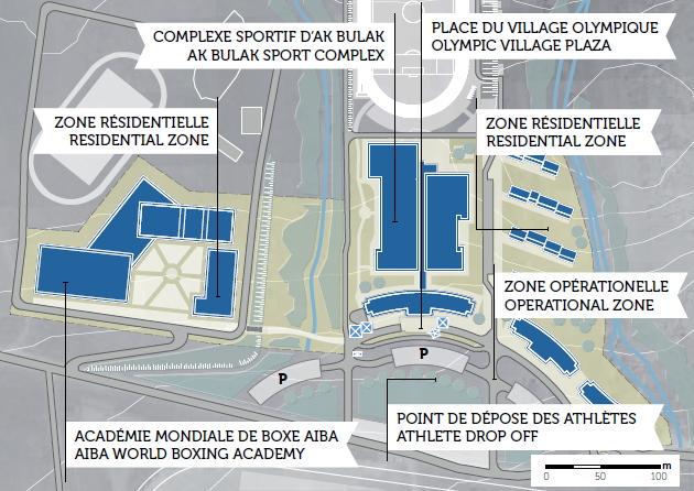 Almaty 2022 - Village Olympique Ak Bulak