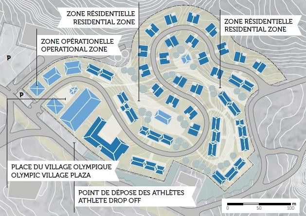 Almaty 2022 - Village Olympique Medeu