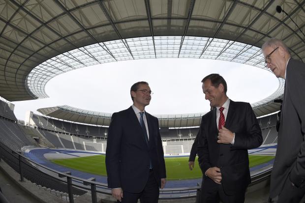 Berlin 2024 - Michael Müller et Alfons Hörmann