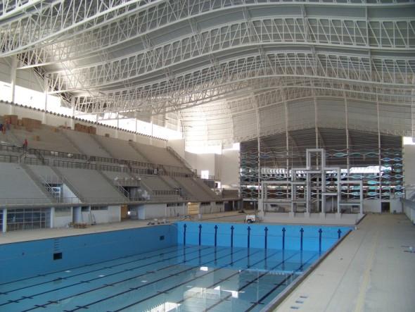 Guadalajara - Centro Acuático Scotiabank - vue intérieure