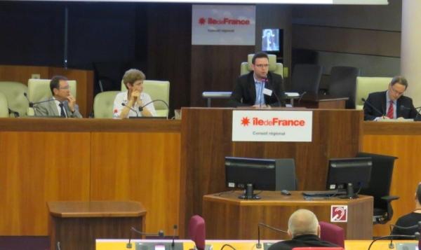 (Intervention à la tribune du Conseil Régional d'Île-de-France, le 14 septembre 2015)