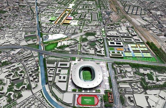 Jo 2024 le tremblay aulnay et villepinte veulent les - Piscine olympique paris ...