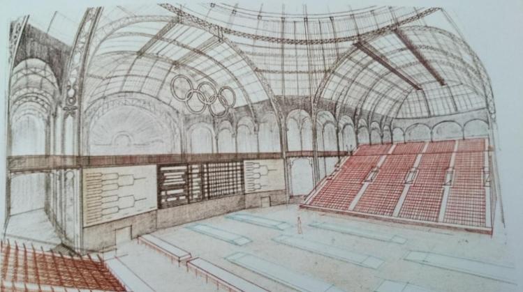 Paris 2024 - Grand Palais JO 1992
