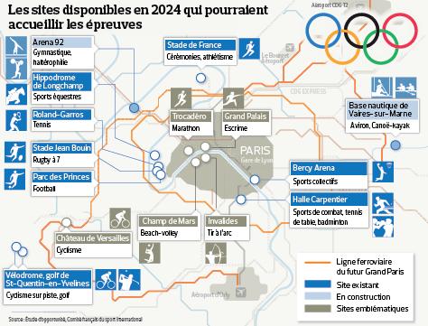 Jo 2024 les sites incontournables d une candidature de for Site francais