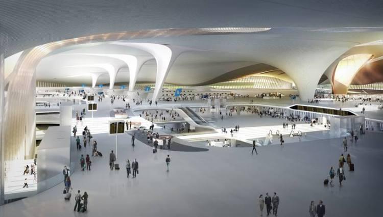Pékin 2022 - nouveau terminal aéroportuaire 2