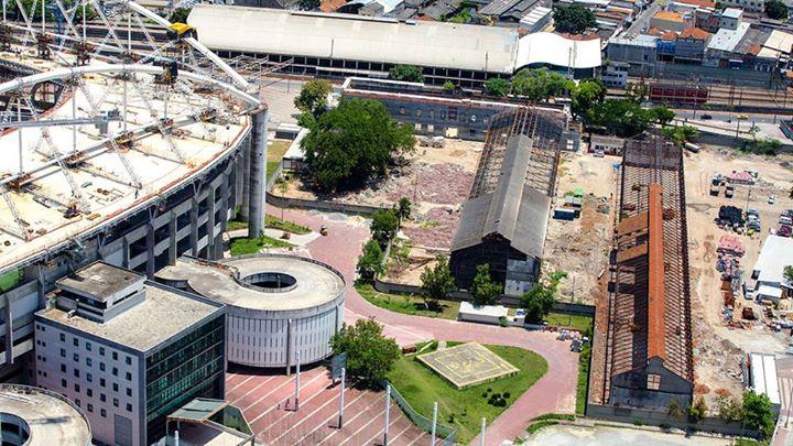 Rio 2016 - Estadio Joao Havelange - vue des abords