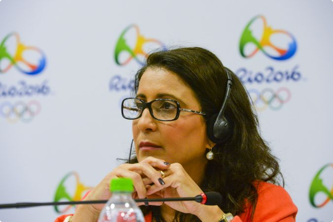 Rio 2016 - Nawal El Moutawakel - 25 février 2015