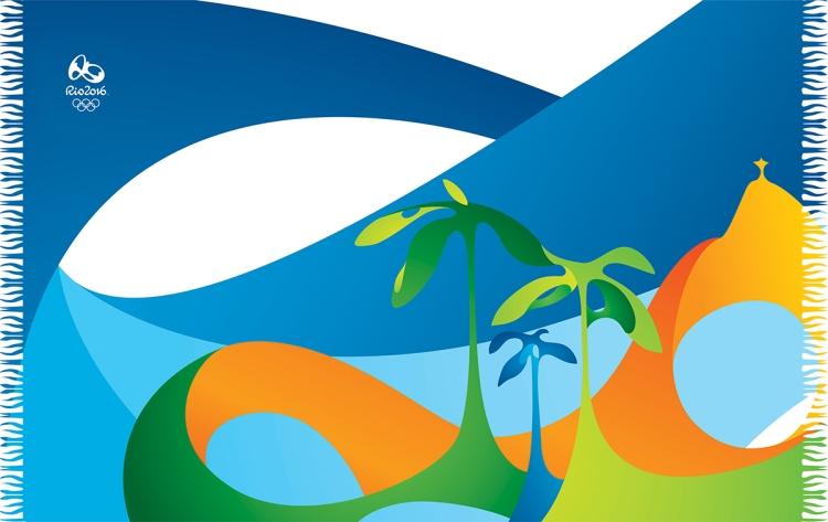 Rio 2016 - serviette de plage 1