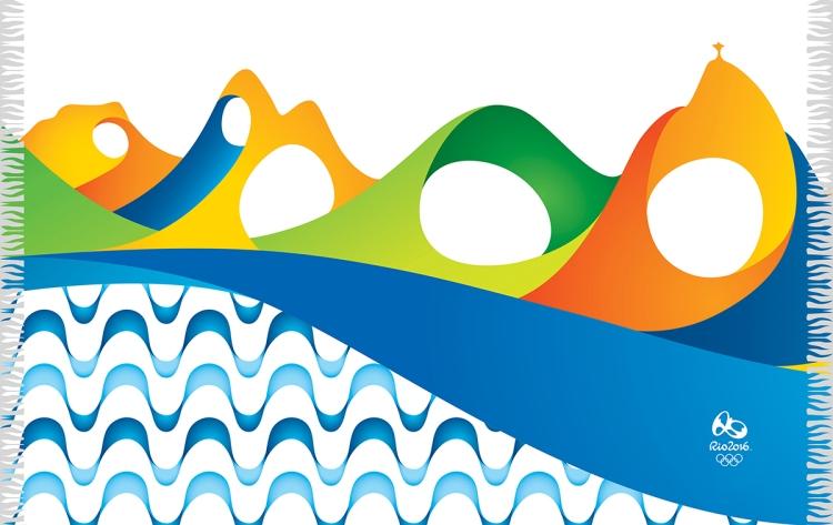 Rio 2016 - serviette de plage 2