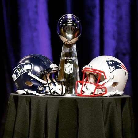 Super Bowl 2015 - trophée