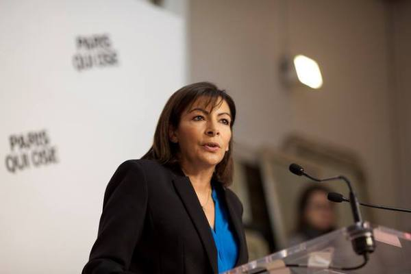 Anne Hidalgo - tribune