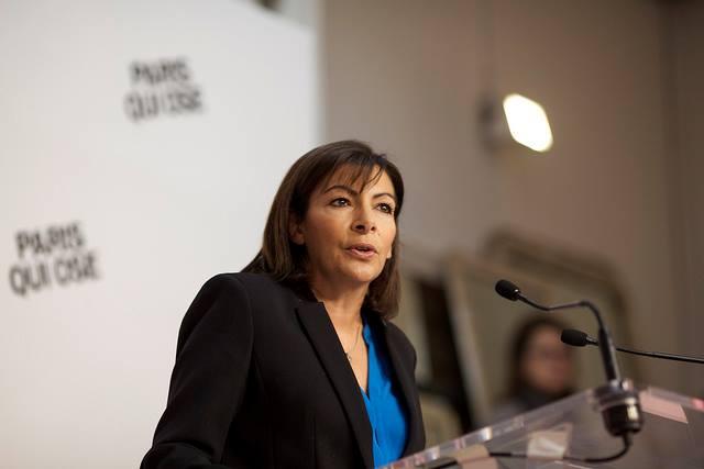 Anne Hidalgo - tribune