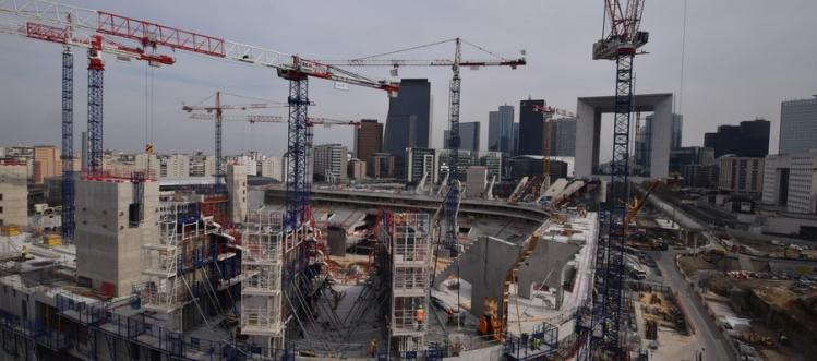 Arena 92 - chantier - 13 mars 2015