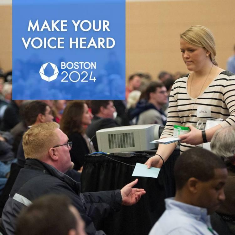 Boston 2024 - réunion