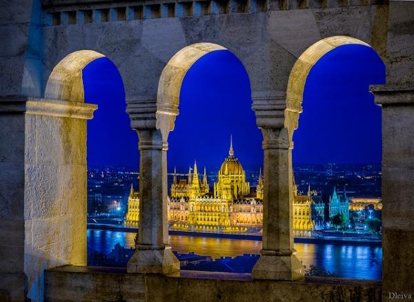Budapest 2024 - vue sur le Parlement