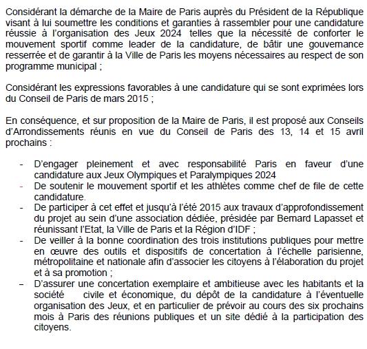 Paris 2024 - Projet de voeu - 4