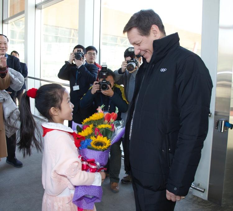Pékin 2022 - Alexander Zhukov - aéroport