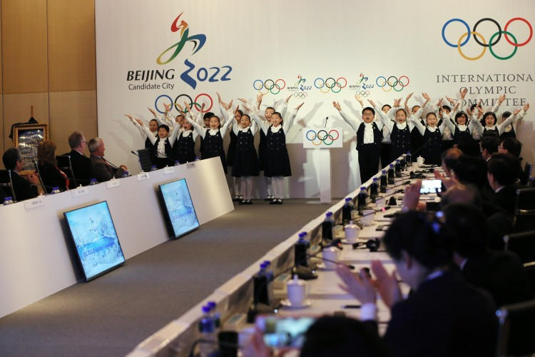 Pékin 2022 - conférence 28 mars 2015 - chorale
