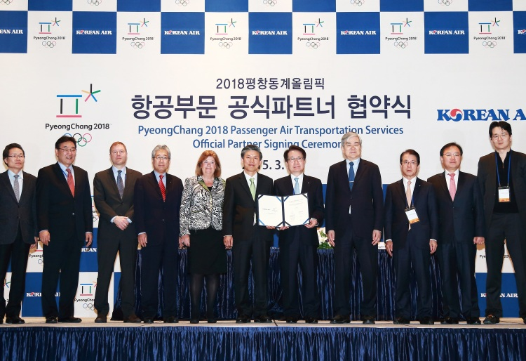 PyeongChang 2018 - Korean Air