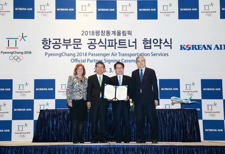 PyeongChang 2018 - signature Korean Air